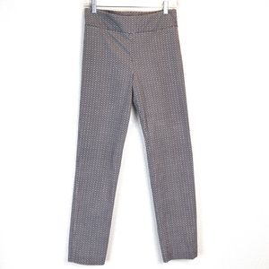 Margaret M Slimming Pants Lt Gray Pattern | Small